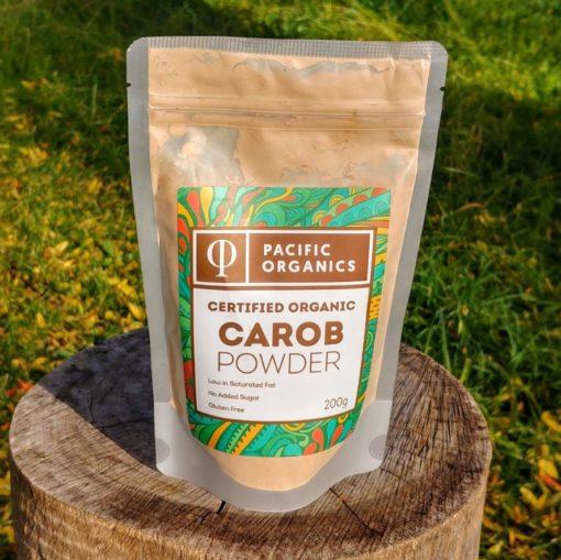 certified organic carob powder