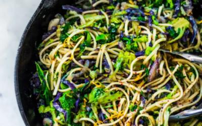 Garlic Vegetable Pasta