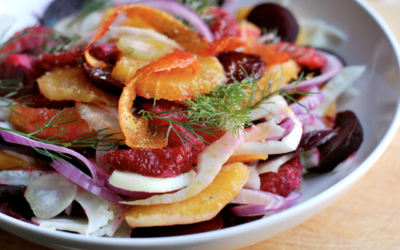 Fennel, Beet and Orange Salad with Cumin Vinaigrette