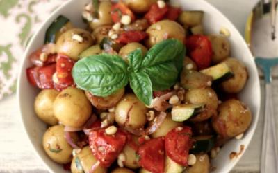 Potato and Zucchini Salad