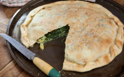 Silverbeet and Potato Torte