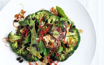 Beef, Broccoli and Black Bean Stir-Fry