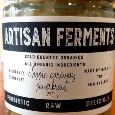 classic sauerkraut with caraway seeds