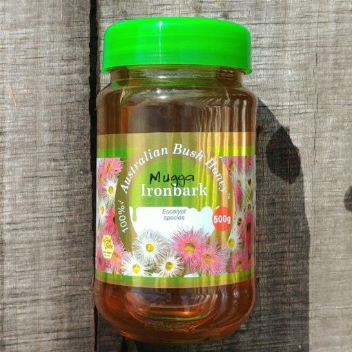 Mugga Ironbark raw local honey