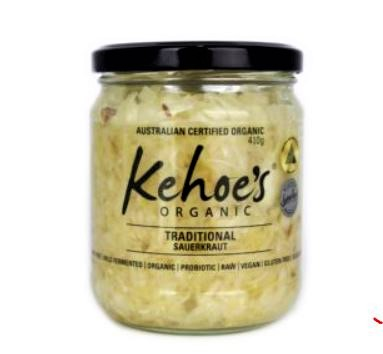 kehoes traditional sauerkraut