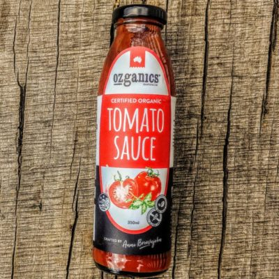 Organic tomato sauce vegan non gmo