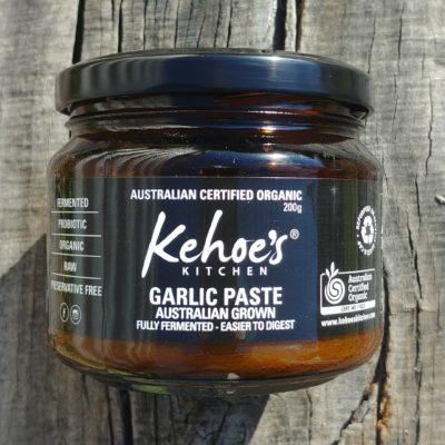 Kehoes Kitchen fermented organic Australian garlic
